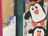 Winter Door Decorations for School Penguin Winter Classroom Door Decorating Door Decoration Ideas