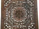 Wooden Carved Wall Art India 20 Best Ideas Of Carved Wood Wall Art