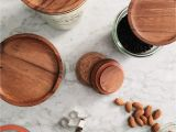 Wooden Lids for Weck Jars Weck Wood Lid Small 60mm Fits Models 080 755 760 762 902