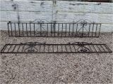 Wrought Iron Fence toppers Wrought Iron Railings Wall toppers Driveway Garden
