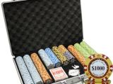 Wsop Clay Poker Chip Sets 650pc 14g Monte Carlo Poker Club Clay Poker Chips Set with