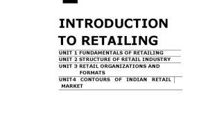 Www Livingspaces Com orderstatus aspx Retail Management Self Learning Manual Retail Distribution
