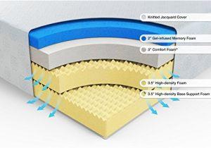 Zinus 12 Inch Gel Infused Green Tea Memory Foam Mattress Zinus 12 Inch Gel Infused Green Tea Memory Foam Mattress